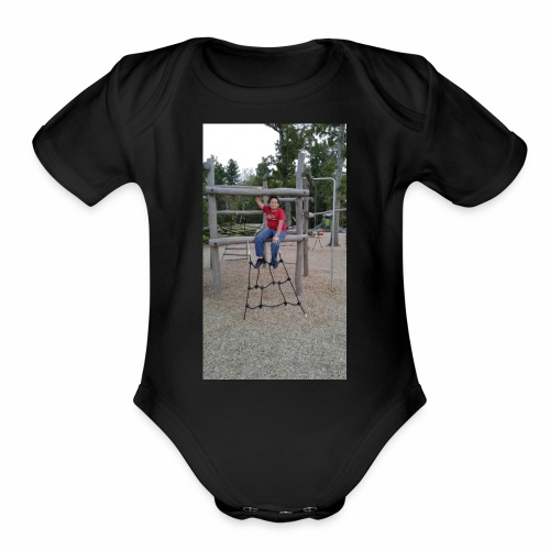Jonathan - Organic Short Sleeve Baby Bodysuit