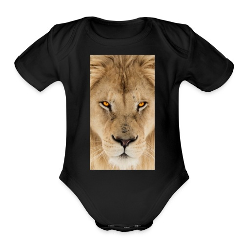 fullsizeoutput 15d1Lion - Organic Short Sleeve Baby Bodysuit