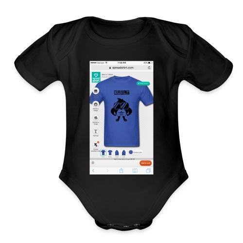 IMG_0341 - Organic Short Sleeve Baby Bodysuit