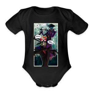 Persocet Molly Persocet - Short Sleeve Baby Bodysuit