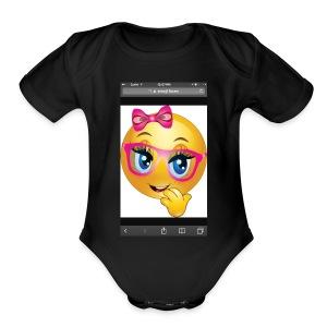 IMG 1524 - Short Sleeve Baby Bodysuit