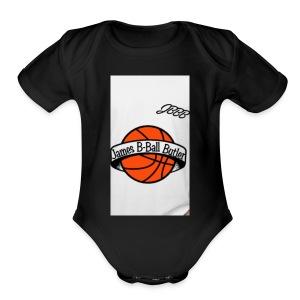 JamesBBallButler - Short Sleeve Baby Bodysuit