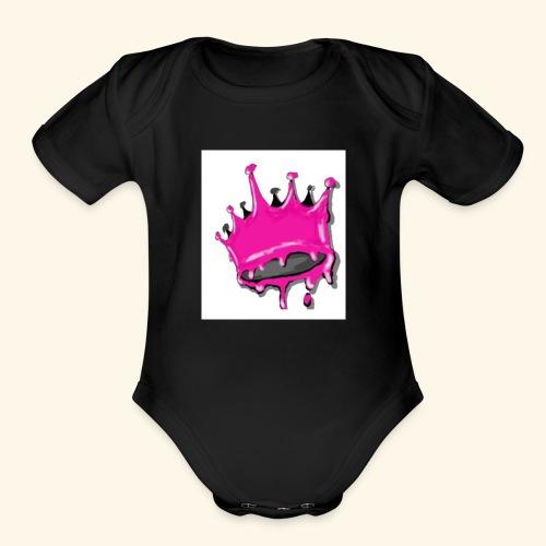 QUEENSETAPART! - Organic Short Sleeve Baby Bodysuit