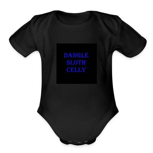 danglesloth - Organic Short Sleeve Baby Bodysuit