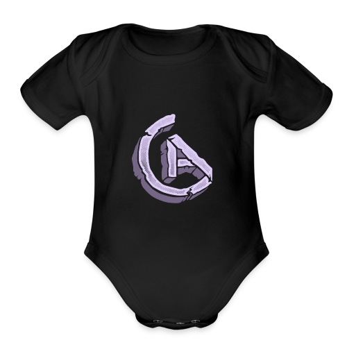20anthony RockSolid Tee Back - Organic Short Sleeve Baby Bodysuit