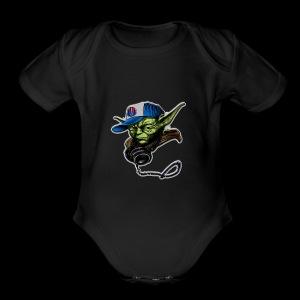 dj yoda - Short Sleeve Baby Bodysuit