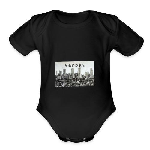 vandal ny - Organic Short Sleeve Baby Bodysuit