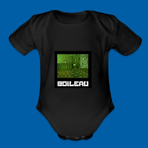 8 - Organic Short Sleeve Baby Bodysuit