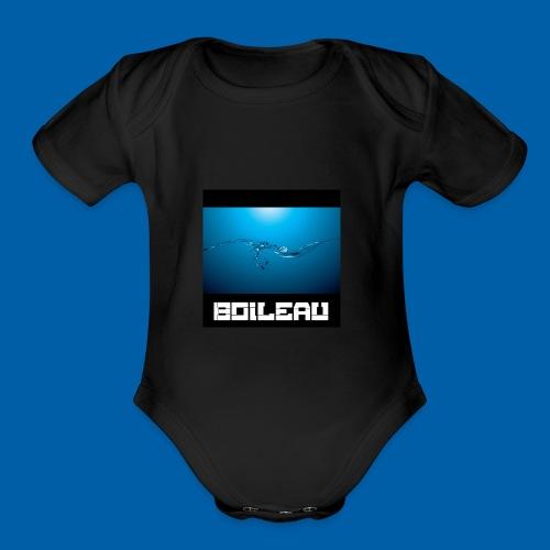 7 - Organic Short Sleeve Baby Bodysuit