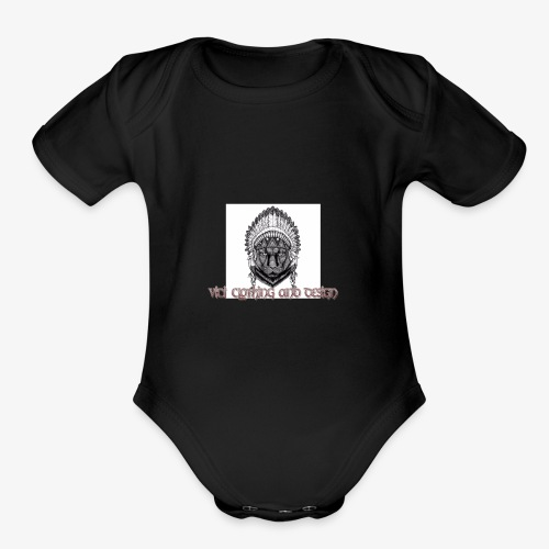 Vici iPhone case - Organic Short Sleeve Baby Bodysuit