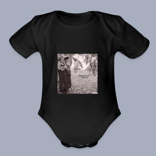 dunkerley twins - Organic Short Sleeve Baby Bodysuit