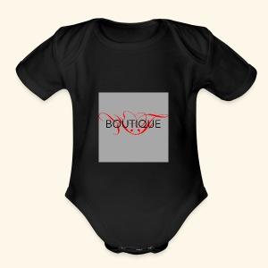 KF Boutique - Short Sleeve Baby Bodysuit