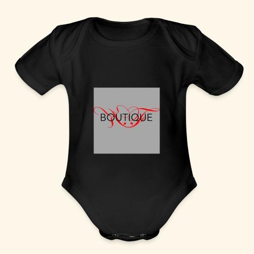 KF Boutique - Organic Short Sleeve Baby Bodysuit