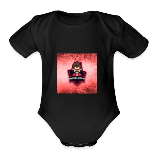 Ech0 Merch - Organic Short Sleeve Baby Bodysuit