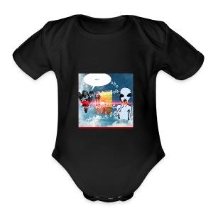1AADD5D5 C3C4 484F A7D3 BC9CE12610CF - Short Sleeve Baby Bodysuit