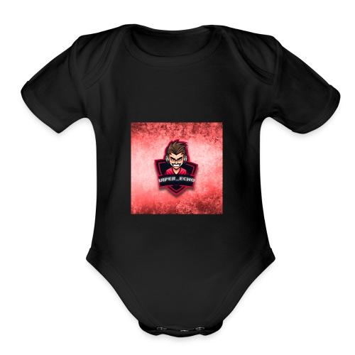 viper ech0 - Organic Short Sleeve Baby Bodysuit