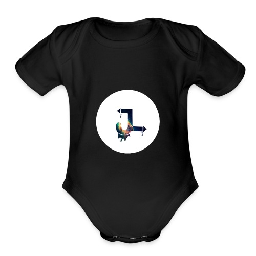 JaLaures - Organic Short Sleeve Baby Bodysuit