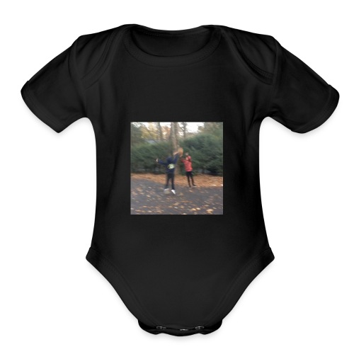 buckets - Organic Short Sleeve Baby Bodysuit