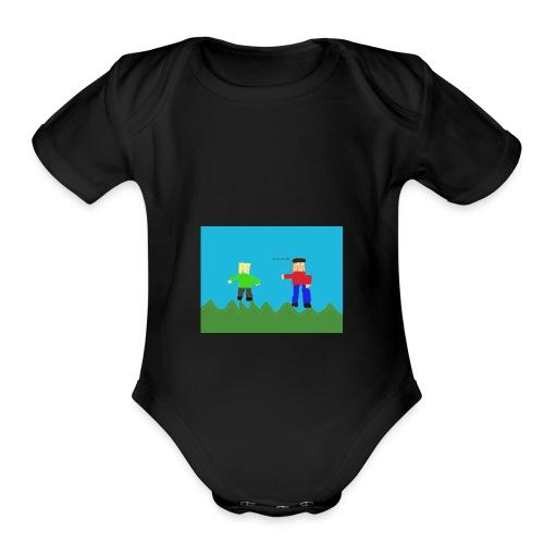 Cheesy Cheese - Organic Short Sleeve Baby Bodysuit