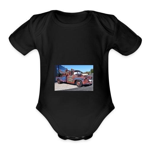 Realmater - Organic Short Sleeve Baby Bodysuit