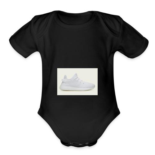 yeezys - Organic Short Sleeve Baby Bodysuit