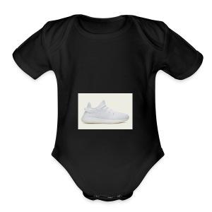 yeezys - Short Sleeve Baby Bodysuit