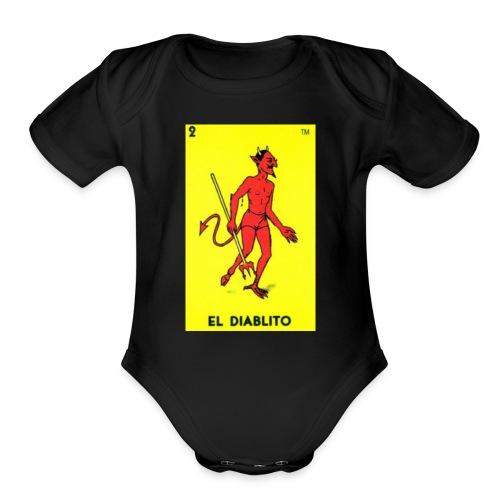 fabio quartararo 20 - Organic Short Sleeve Baby Bodysuit