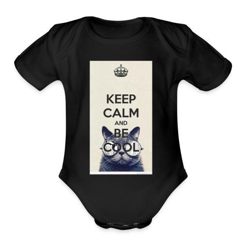Life as Alexcia merch - Organic Short Sleeve Baby Bodysuit