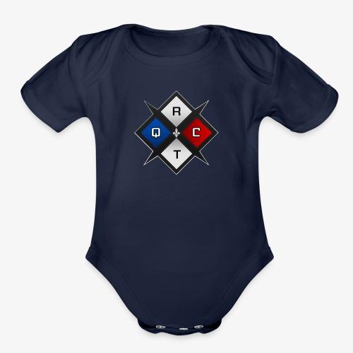 RTQC Logo - Organic Short Sleeve Baby Bodysuit