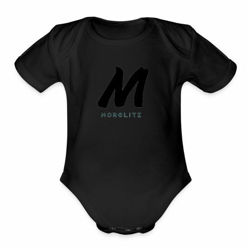 The Real Morglitz Merchandise! - Organic Short Sleeve Baby Bodysuit