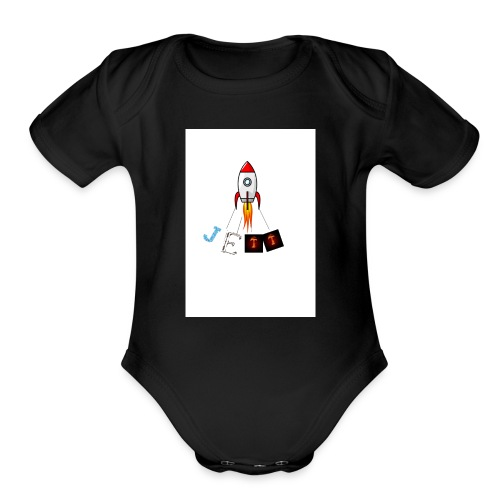jett - Organic Short Sleeve Baby Bodysuit