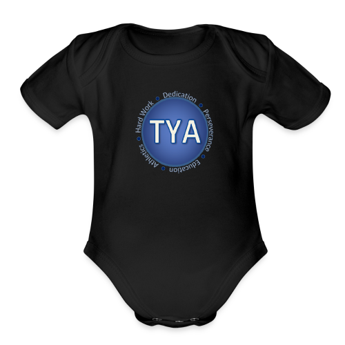Texas Youth Advocates Apparel - Organic Short Sleeve Baby Bodysuit