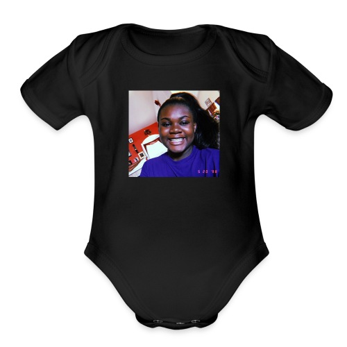 7132D214 2904 4DA4 87BD 183CA535E42C - Organic Short Sleeve Baby Bodysuit
