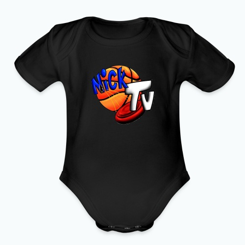 Nick TV Big and Tall - Organic Short Sleeve Baby Bodysuit
