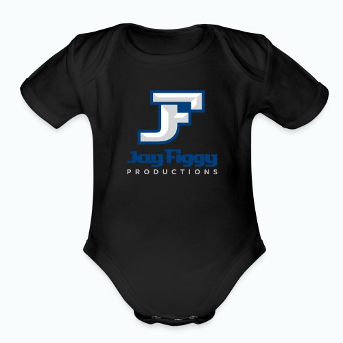 JayFiggyProductions - Organic Short Sleeve Baby Bodysuit