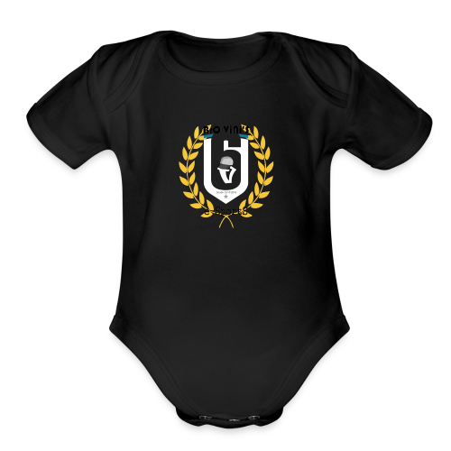 BroViniS E-SportS - Organic Short Sleeve Baby Bodysuit
