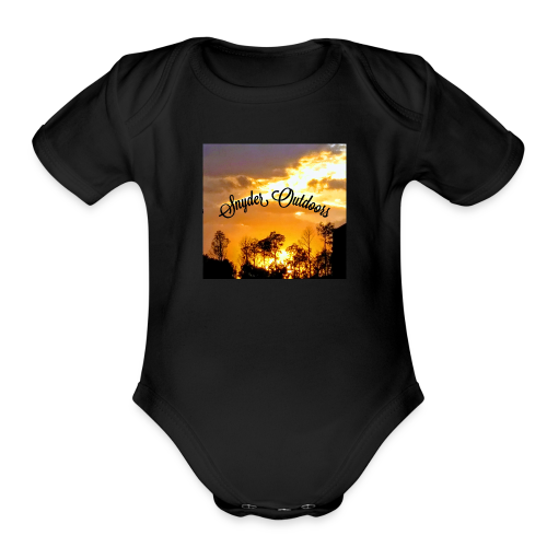 Sunset SnyderOutdoors - Organic Short Sleeve Baby Bodysuit