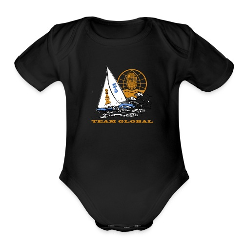 2018 R2AK Team Global - Organic Short Sleeve Baby Bodysuit