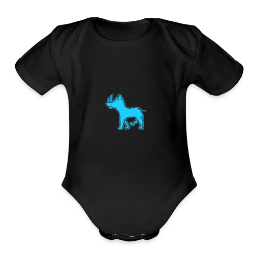 The Diamond Rhino - Organic Short Sleeve Baby Bodysuit