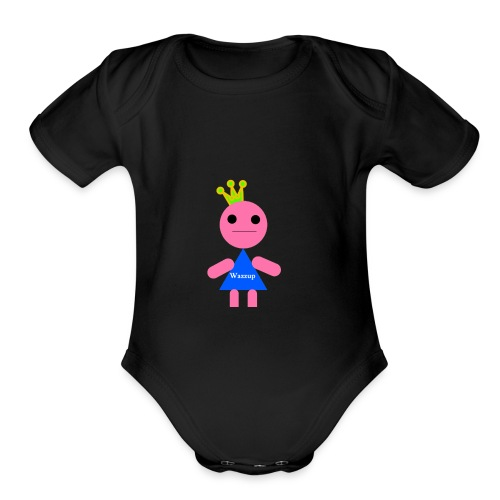 gamer murch - Organic Short Sleeve Baby Bodysuit
