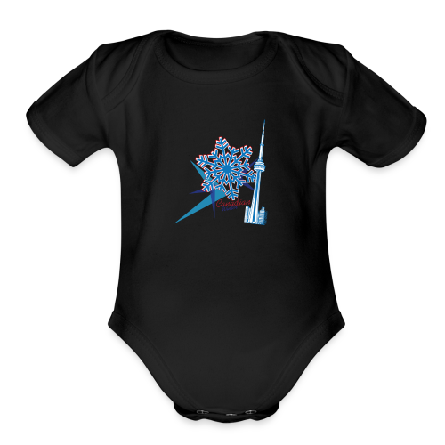 Untitled-3 - Organic Short Sleeve Baby Bodysuit