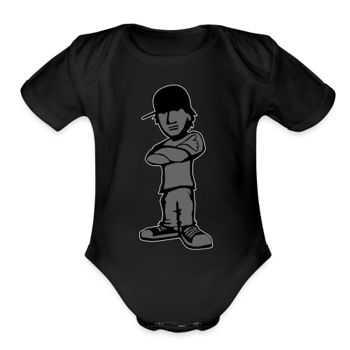 Kid with Attitude - Organic Short Sleeve Baby Bodysuit