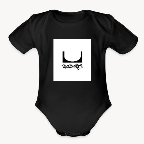 Mini V3RT Co. - Organic Short Sleeve Baby Bodysuit