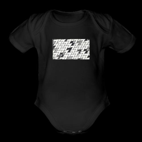 seven - Organic Short Sleeve Baby Bodysuit