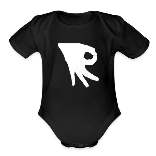 Made You Look - Organic Short Sleeve Baby Bodysuit