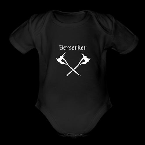 Berserker - Organic Short Sleeve Baby Bodysuit