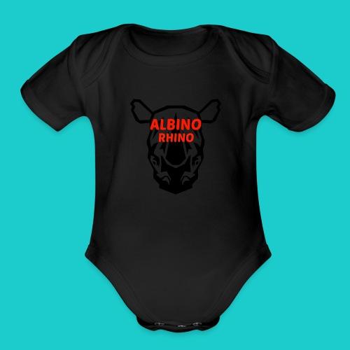 Youtube logo red - Organic Short Sleeve Baby Bodysuit