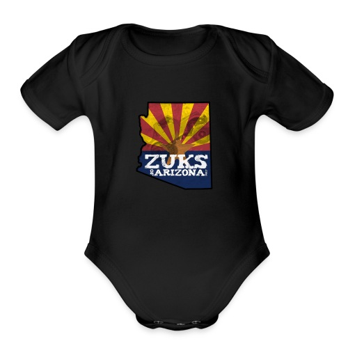 Zuks of Arizona Official Logo - Organic Short Sleeve Baby Bodysuit