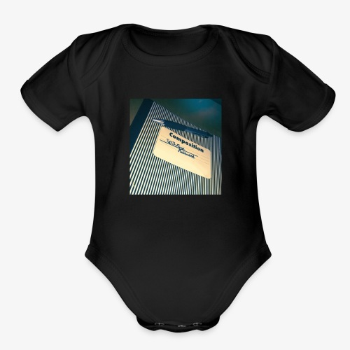 SpitFire - Released Cover - Organic Short Sleeve Baby Bodysuit