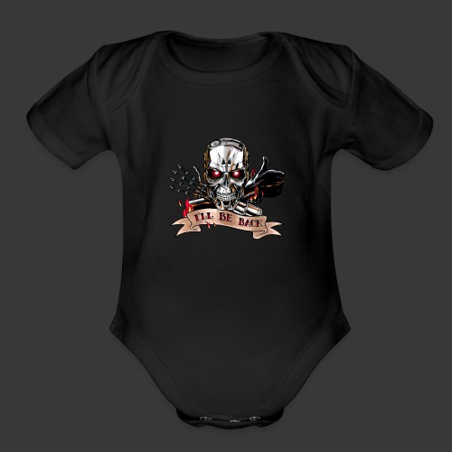 Terminator Universe - Organic Short Sleeve Baby Bodysuit